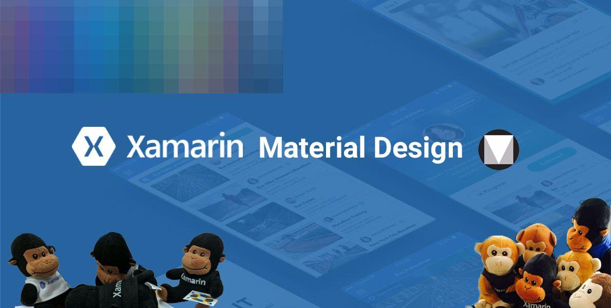 Xamarin Materia Design